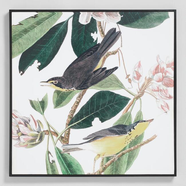 Audubon Bird By Jean Rabin Framed Wall Art