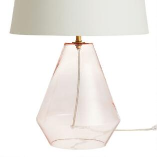 Blush Pink N Gl Table Lamp Base
