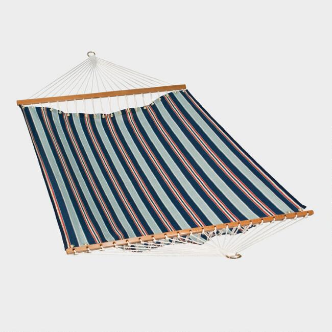 Red White and Blue Stripe Hammock
