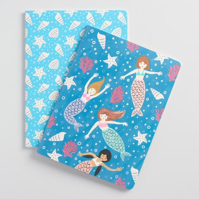 Mermaid Tales Notebooks Set of 2