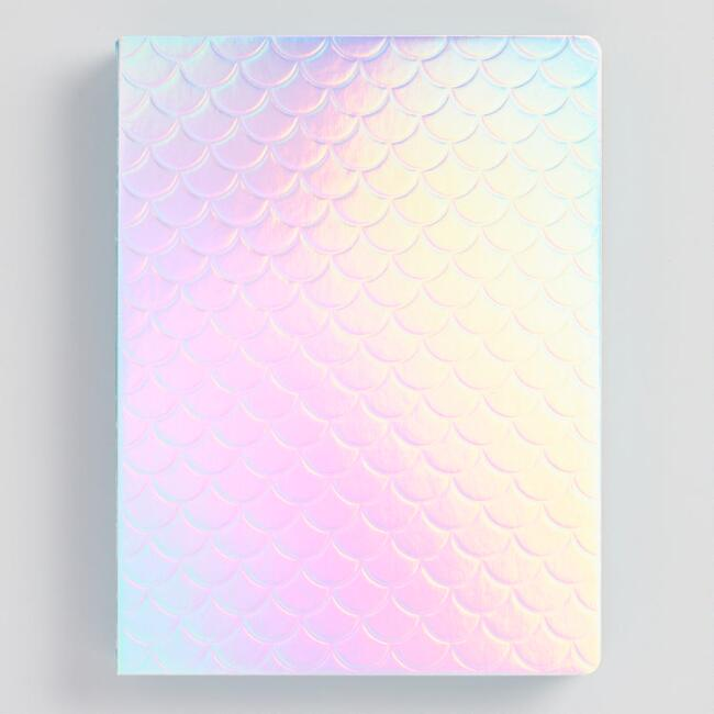 Iridescent Mermaid Scales Journal
