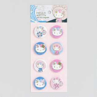 Hello Kitty Magnets Set of 8