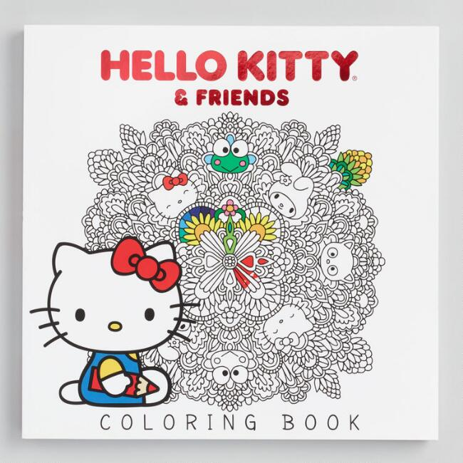 Hello Kitty And Friends Coloring Book by World Market