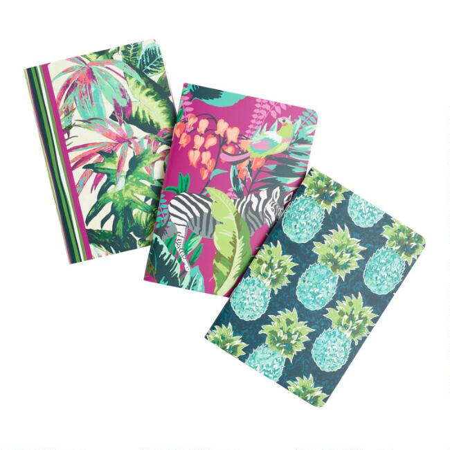 Mini Radiant Jungle Journals Set of 3