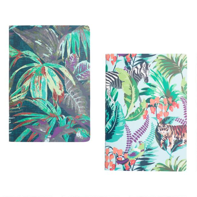 Radiant Jungle Journals Set of 2