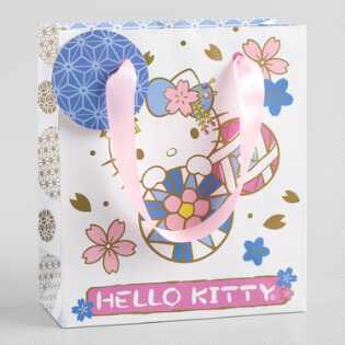 Small Spring Hello Kitty Gift Bags Set of 2