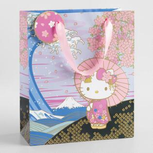 ace5c1ddb95f Large Spring Hello Kitty Gift Bag