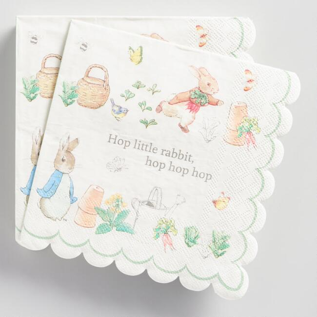 Tale of Peter Rabbit Lunch Napkins 20 Count
