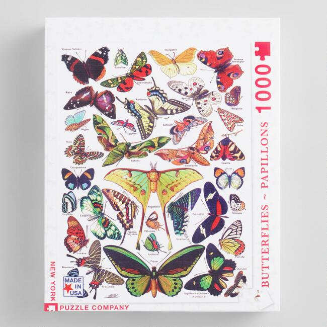 Butterfly Papillons 1000 Piece Puzzle