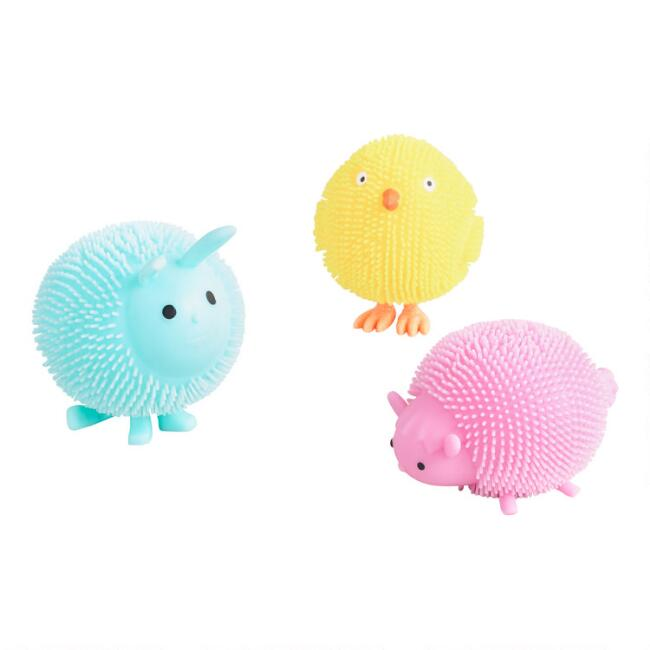 Toysmith Chubby Squishy Critters Set of 3