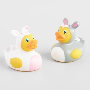 Toysmith Easter Rubber Duck Bath Squirters Set of 2 d890cf67e623