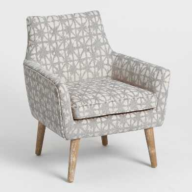 Hemp Gray Thompson Upholstered Armchair