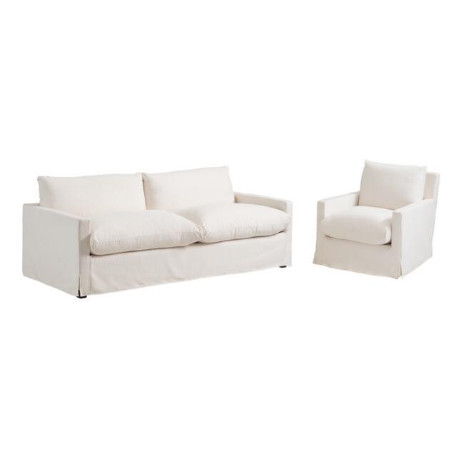 Feather Filled Brynn Seating Collection