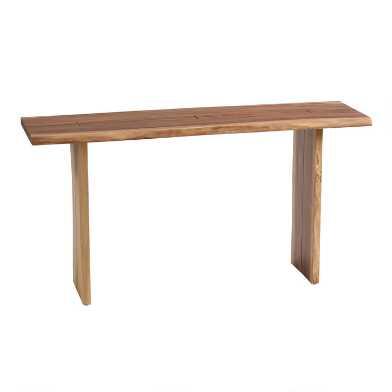 Live Edge Wood Sansur Console Table