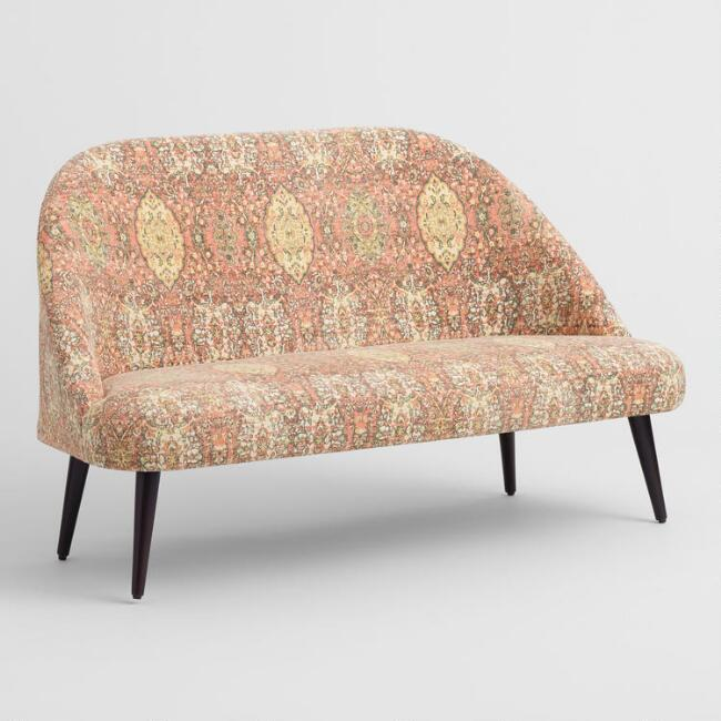 Multicolor Medallion Print Marlee Loveseat