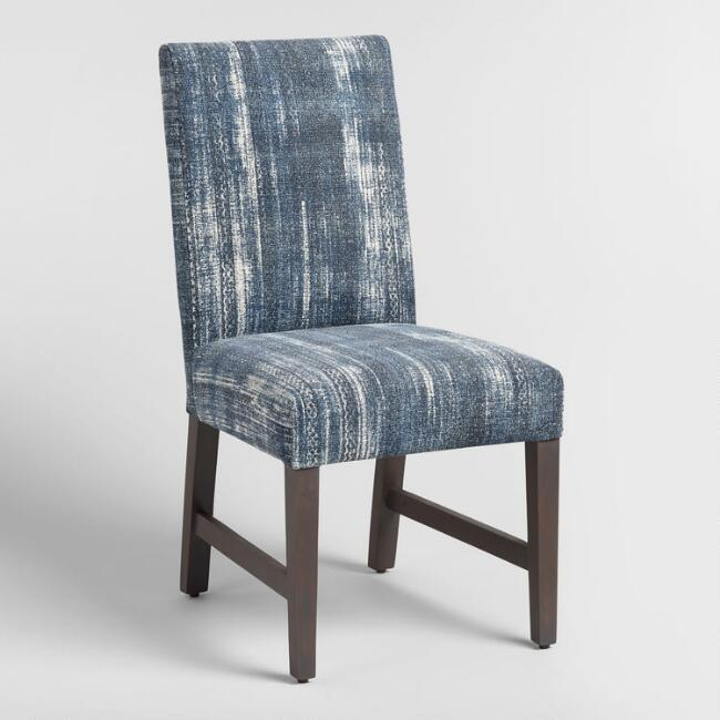 Indigo Blue Emmett Upholstered Dining Chairs Set of 2