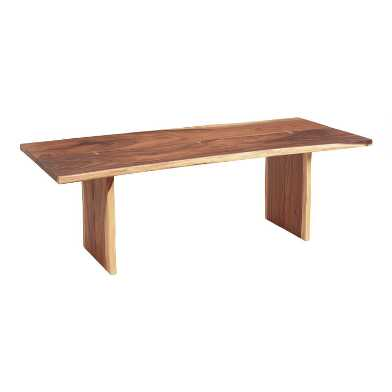 Live Edge Wood Sansur Dining Table