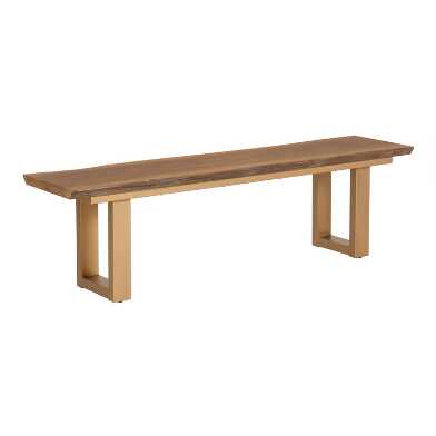 Excellent Dining Room Benches Banquettes Settees World Market Ibusinesslaw Wood Chair Design Ideas Ibusinesslaworg