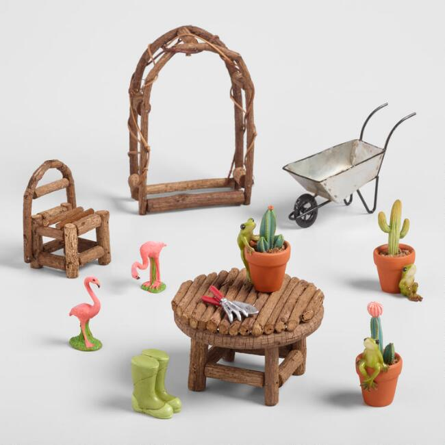 Fairy Garden Accessories Collection