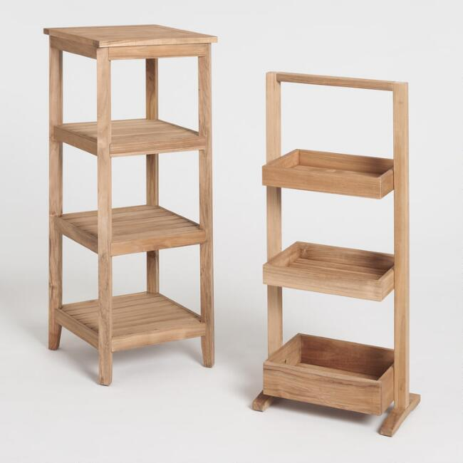 Teak Wood Teigan Storage Collection