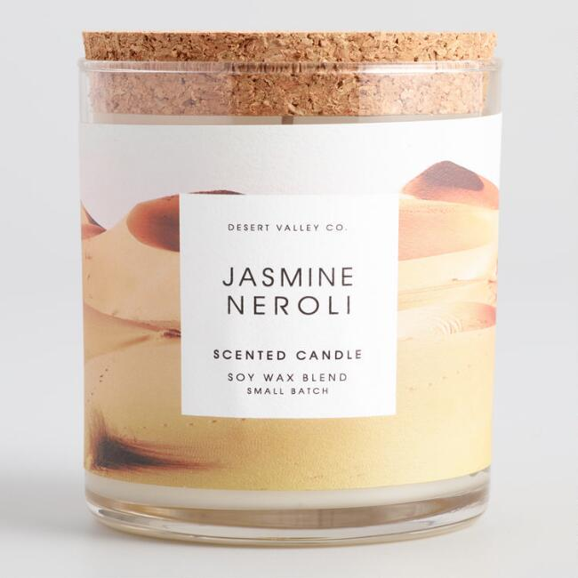 Jasmine Neroli Desert Filled Jar Candle