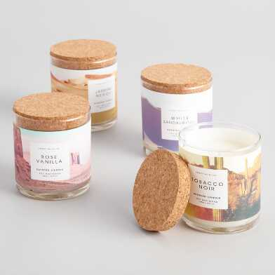 Desert Filled Jar Candle Collection