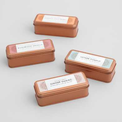 Copper Tin Travel Candle Collection