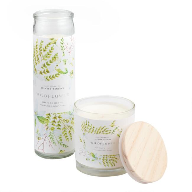 Wildflower Sweet Aromas Filled Candle