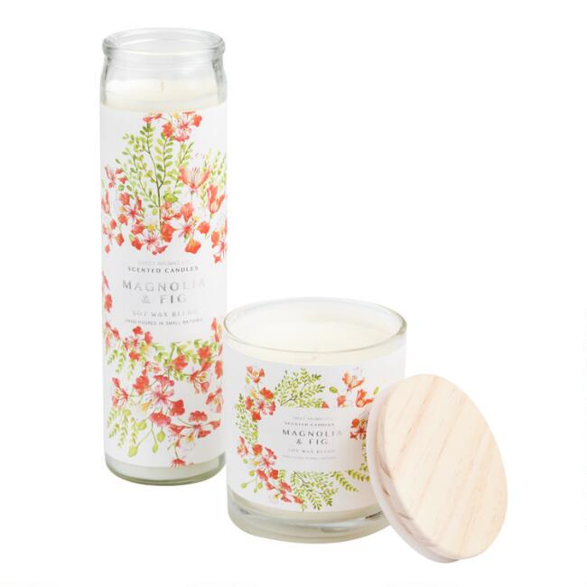 Magnolia and Fig Sweet Aromas Filled Candle