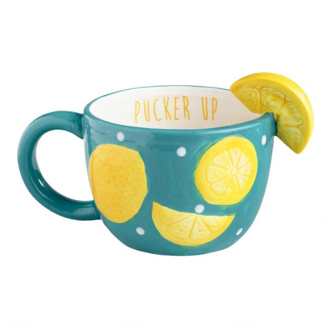 Pucker Up Lemon Mug