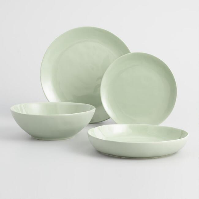 Light Sage Element Dinnerware Collection