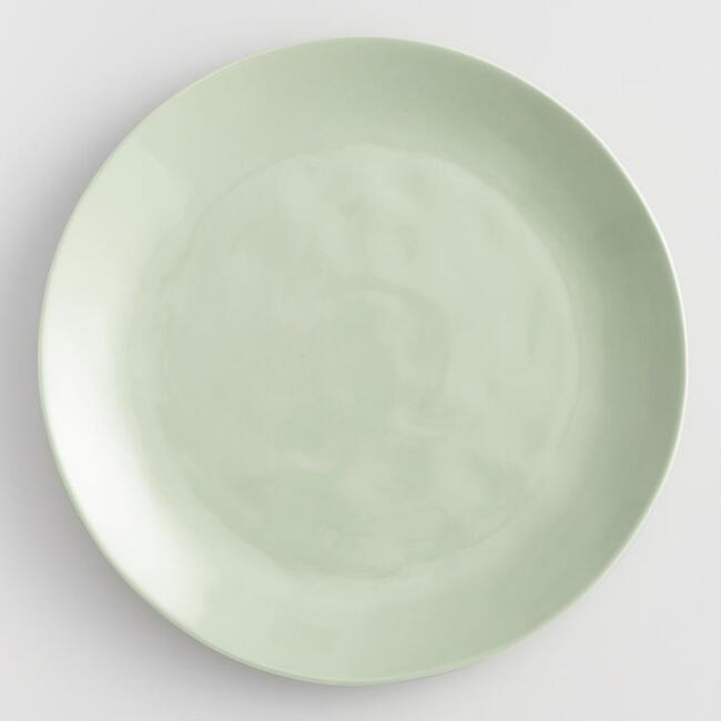 Light Sage Element Dinner Plates Set of 4