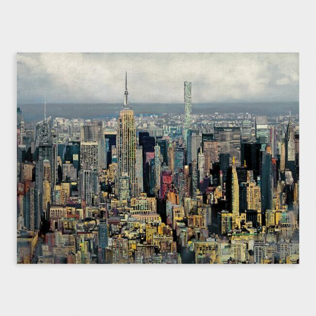 New York State of Mind Canvas Print Wall Art