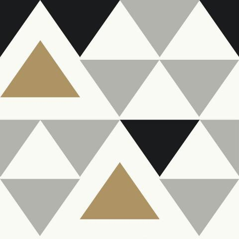 Contemporary Triangle Peel And Stick Wallpaper World Market