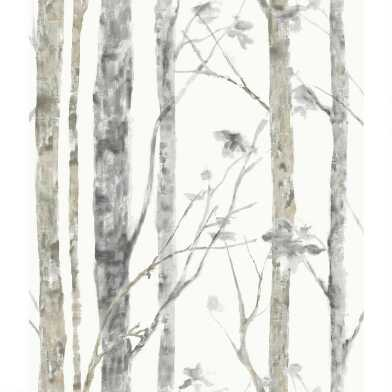 Woodland Forest Peel and Stick Wallpaper