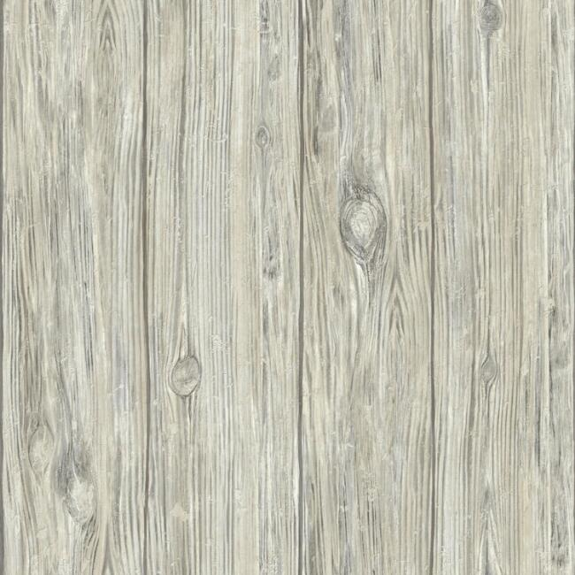 Graywash Wood Planks Peel and Stick Wallpaper