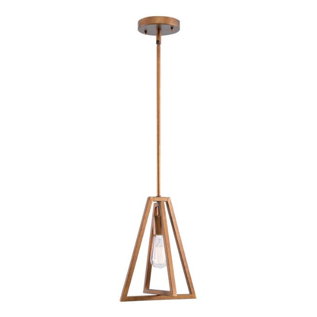 Mini Gold 1 Light Astrid Pendant Lamp