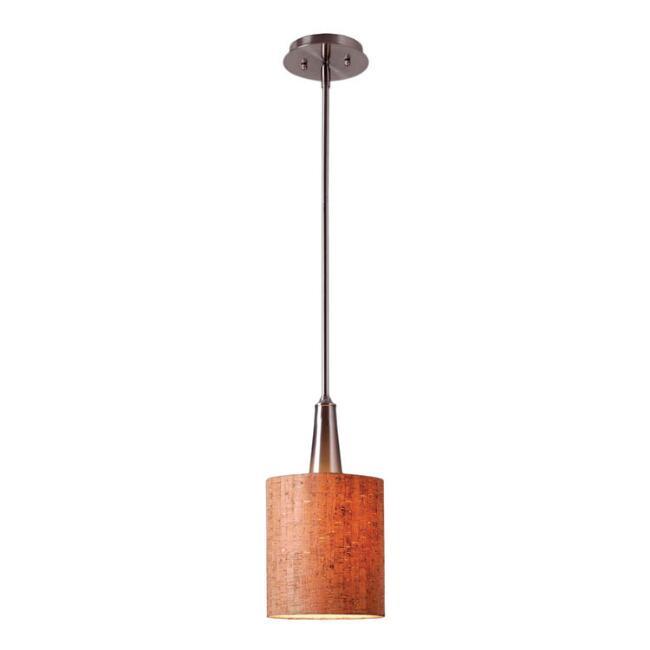 Mini Steel and Cork Pendant Lamp