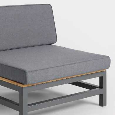 Alicante Occasional Chair Replacement Cushions 2 Piece Set