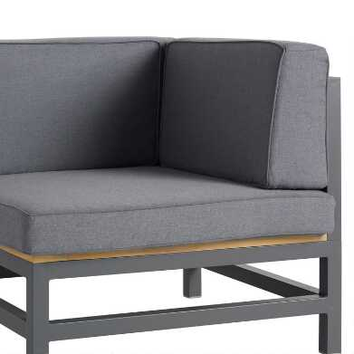 Alicante Sectional Corner Replacement Cushions 3 Piece Set