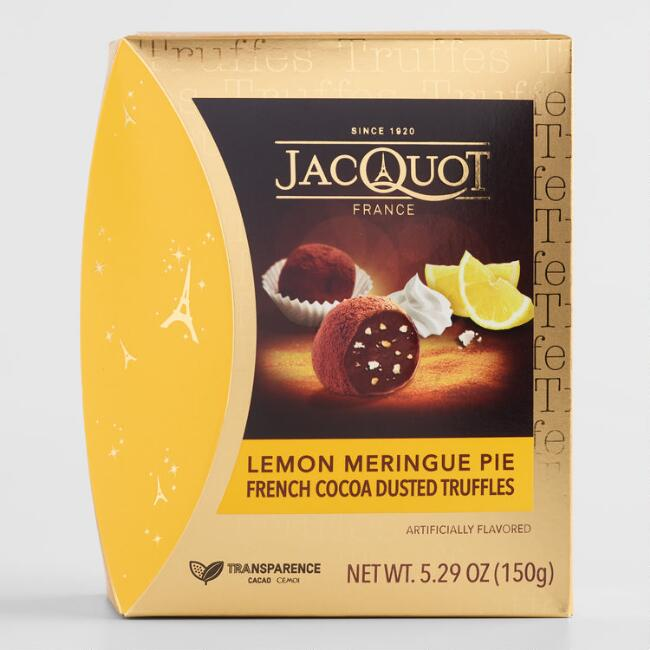 Jacquot Lemon Meringue Chocolate Truffles