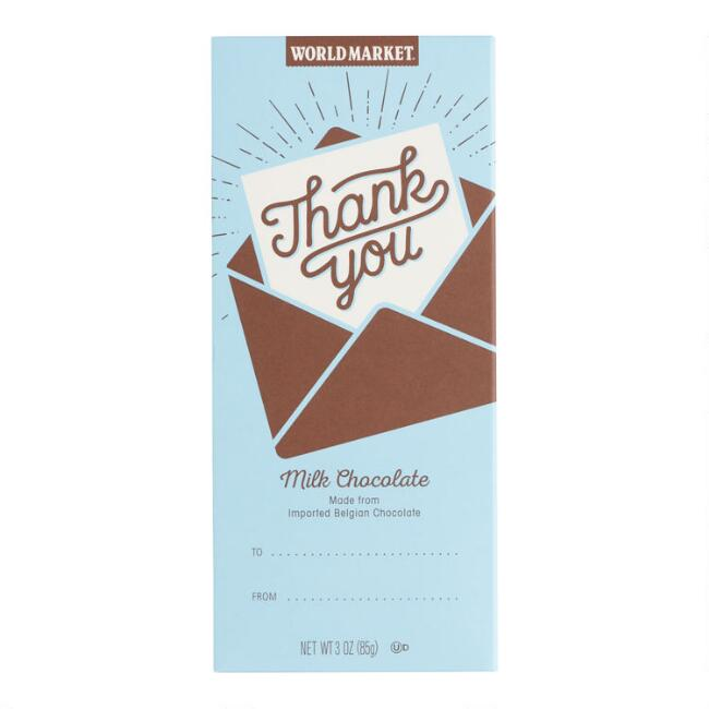 World Market® Thank You Milk Chocolate Bar