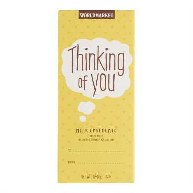 World Market® Thinking of You Milk Chocolate Bar