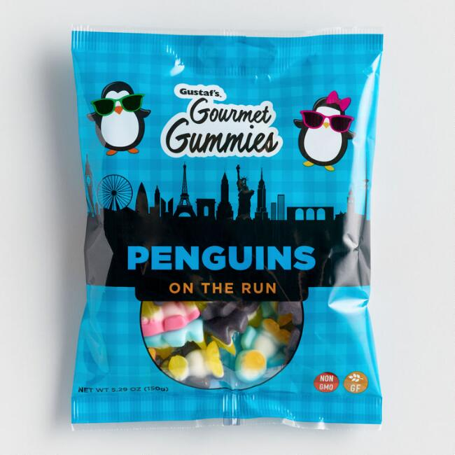Gustaf's Penguins on the Run Gummy Candy
