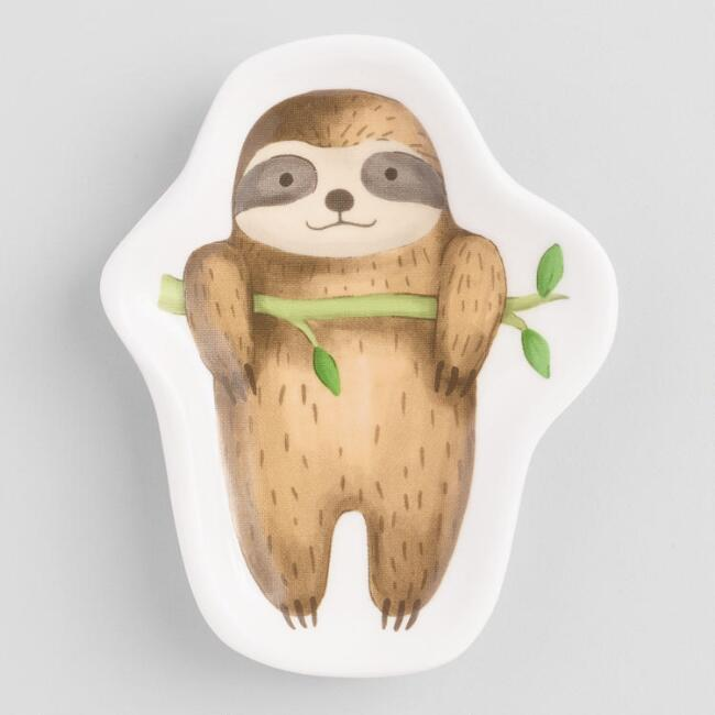 Small Sloth Trinket Dish