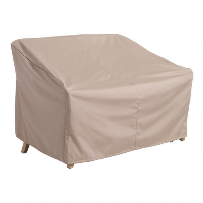 Rapallo and Cambria Outdoor Occasional Bench Cover
