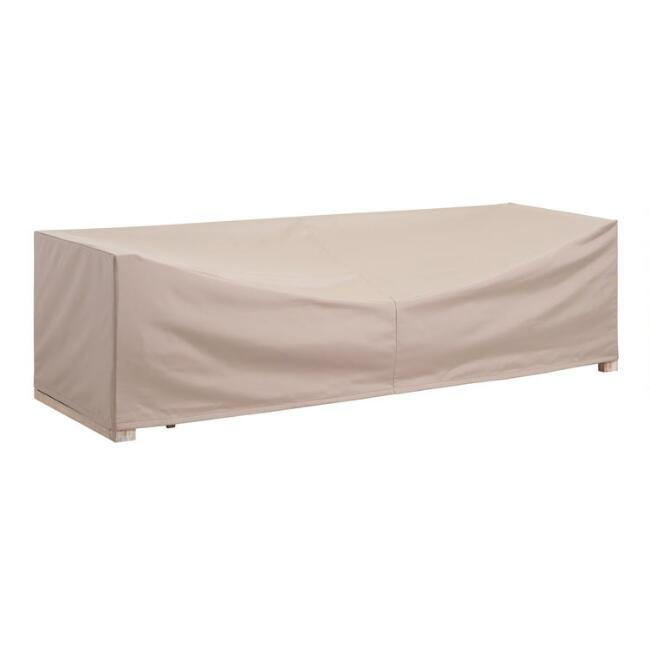 Segovia 3 Seater Outdoor Occasional Bench Cover