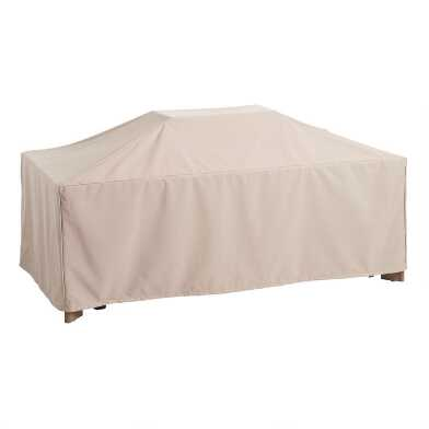 Rectangular Outdoor Dining Table Cover