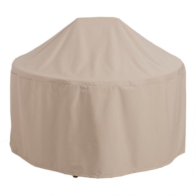 Round Outdoor Dining Table Cover