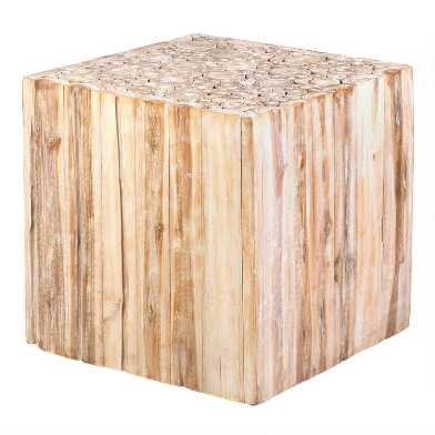 Teakwood Branch Fiora Accent Table